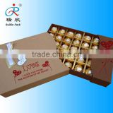 aluminum foil packaging for luxury chocolate wrapper