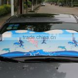 Reduce temprature PE bubble car sunshade