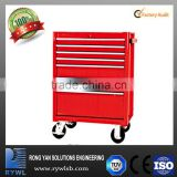 RTB688-A storage tool box trolley with rolling ball silde