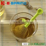 Silicone Tea tool Interesting Kitchen Tools Teapot Tea Sets Pear style Silicone Herbal Tea Strainer