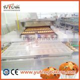 custard cake making machine production line baking equipment automatic cake making machine