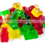 Hot selling FDA food grade non stick silicone gummy bear candy molds