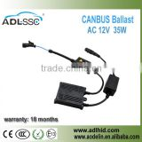 2016 Promotion! 35W CANBUS Pro Ballast for UV Lamps/HID Lighting Bulb