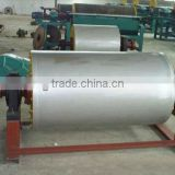 Permanent magnet separator roller for belt conveyor