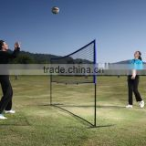 MULTIFUNCTIONAL volleyball pole and net for volleyball and tennis