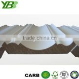 MDF lighted crown moulding chinese wood moulding high quality decorative or architectural moulding