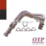 94-01 RACING STAINLESS STEEL EXHAUST HEADER FOR ACURA INTEGRA GSR 1.8L B18C 4-1 2.5""