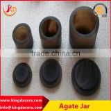 1L-2L High quality agate jar with pestle,agate mortar for lab with competitive price