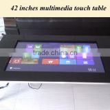 IR multitouch interactive table