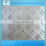 Aluminum checker 5052 H32 plate, diamond/ 2 bar/ 3 bar/ 5 bar embossed sheet for decoration