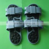 silicone rubber shoes therapists/electronic massage shoes