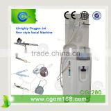 Salon use hyperbaric oxygen therapy chamber for skin injection therapy no needle meso