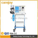 Hot sale price Hospital equipment single vaporizer Stainless steel Trolley movable Universal anesthesia machine