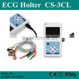 2016 3/12 Channel ECG Holter System -24 Hours CS-3CL Cardiac Heart Monitor with Free Software-Shelly