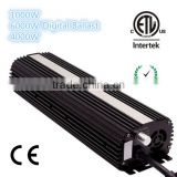 600W Digital Dimmable HPS MH Bulb HYDROPONICS Grow Light Ballast