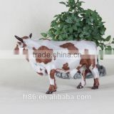 miniature artificial dairy plastic farm animal toy