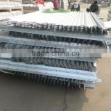 Haotian factory Hot rolled carbon steel galvanized iron 45 degree steel angle bar size,steel angle price