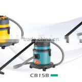 15L Wet and Dry Vacuum Cleaner( plastic tank/Stainless steel)/Dust suction and water absorption machine