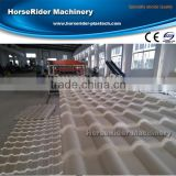 PVC Wave Tile Extrusion Machine plastic roof tile production line