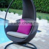 Outdoor rattan garden furniture modern patio swing