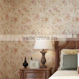 Natural Colorful Flower Modern Wallpaper Non-woven Interior Decoration Cheap Design 3d Wallpaper