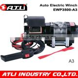 12v 3500LBS high speed electric winch