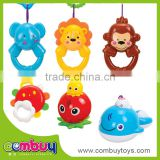Hot selling baby toys rattle noise maker mini plastic rattle ball