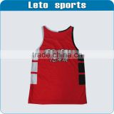 Custom running sports wear dry fit running shirts custom design dri fit men sublimated printing running tight shirts