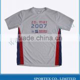 100%polyester men's running t shirt