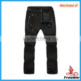 Hiking Pants Men Outdoor softshell trousers Waterproof Thermal Windproof for Camping trekking Ski