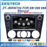 Zestech Manual A/C Touch Screen Car Dvd Player for BMW E81 E82 E88 1 Series dvd gps with Radio Bluetooth TV Multimedia Navigation System autoparts