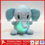 Shining light buddy elephant Singing plush toy