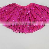 Top Quality Fancy Mini Skirt Lovely Design Colorful Twinkle Chiffon Baby Girls Petti Skirts