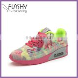 Wholesale factory air shoe sport women lace-up running shoes