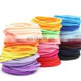Candy colors Seamless Hair bands Nylon headbands women Hair Ties ropes elastic rubber bands