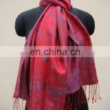 Silk Jacquard Shawls In New Trendy Designs