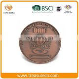 Personalized made cheap metal coin, custom coin, custom token coins