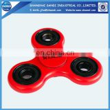Customized logo printed red spinner hand