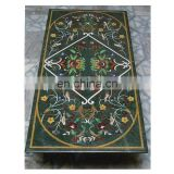 Marble Inlay Pietra Dura Dining Table Tops Stone Inlaid Dining Table Top