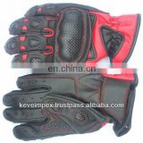 Short racing gloves MC gloves Motocross gloves Leather gloves sports gloves Scooter gloves Motorbike gloves 2017