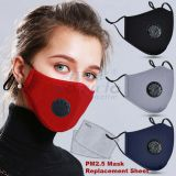 Pure cotton breathing valve PM2.5 mask anti smog/particle/pollen male and female adult protective dust mask