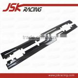 REZ STYLE CARBON FIBER SIDE SKIRTS FOR MERCEDES BENZ CLA-CLASS AMG W117 CLA260 250 200 180 CLA45(JSK061206)