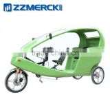 Pedal Cycle Passenger Seat Electric Taxi Bike