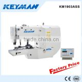 KM1903ASS Direct drive electronic button attaching sewing machine button machine 1903 button sewing machine