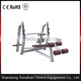 New Design 2016/High Quality/CE Approved Commercial Gym equipment/Fitness equipment Olympic Decline Bench TZ-6043