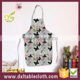 Household waterproof kitchen apron plastic apron