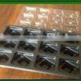 plastic chocolate tray chocolate blister tray with lid plastic tray with lid plastic blister tray