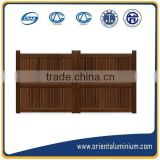 Aluminium garden gate ;Aluminium gate for garden and home