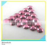 Iron on Metallic Rhinestuds Rose Round Flatback Ss6 2mm 600 Gross Package