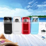 5600mah unique portable power bank colourful mini size power bank support mobile and mini pc